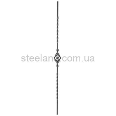 H 950 х L 60 мм ▄ 12 мм квадрат не вальцованный